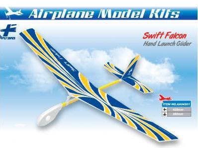 Планер метательный ZT Model Swift Falcon 420мм фото видео изображение