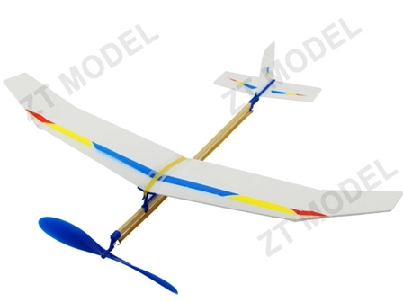 Самолет резиномоторный ZT Model Sky-Touch 500мм фото видео изображение