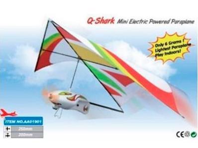 фото Самолёт (дельтаплан) электромоторный ZT Model Q-Shark 250мм видео отзывы