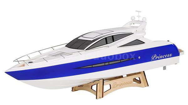 фото Яхта моторная р/у TFL Princess 960мм с электродвигателем видео отзывы