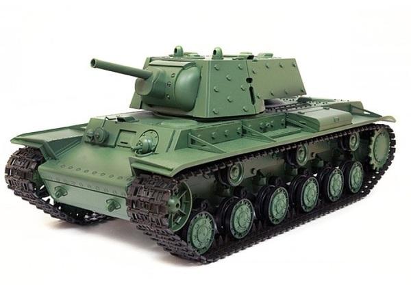 Купить Танк р/у 1:16 Heng Long KV1 с пневмопушкой и дымом (HL3878-1) цена