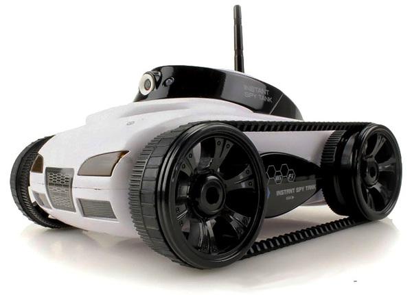 Танк-шпион WiFi I-Spy с камерой фото видео изображение
