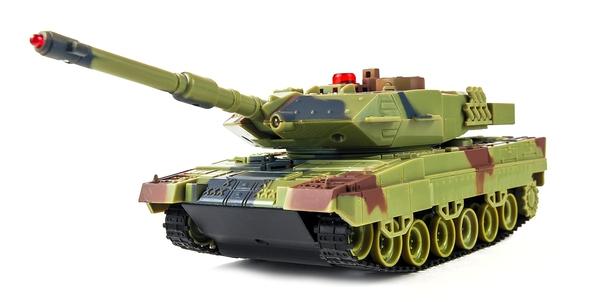 фото Танк р/у 1:36 HuanQi H500 Bluetooth с и/к пушкой для танкового боя отзывы