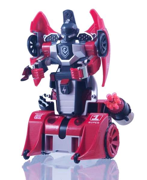Цена Трансформер на р/у LX9065 Knight (красный)