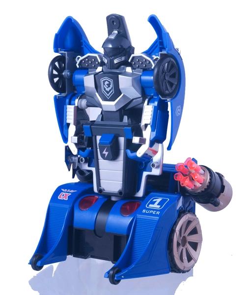 Трансформер на р/у LX9065 Knight (синий) фото видео изображение