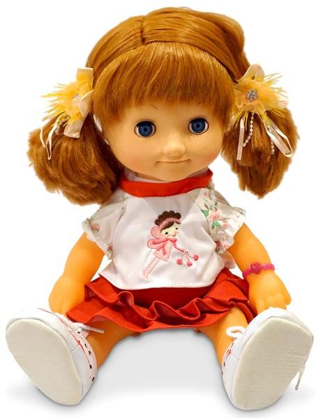 Цена Кукла интерактивная TRACY Оля говорящая с мимикой 40 см (шатенка)